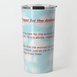 A Prayer for the Animals Travel Mug