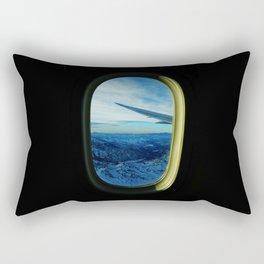 Cordillera de los Andes from a plane Rectangular Pillow