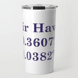 Zakiaz fair haven nj coordinates Travel Mug
