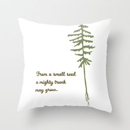 Small Seed Throw Pillow