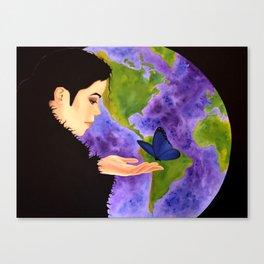 Earth's Child Canvas Print
