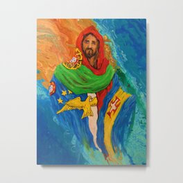 Jesus Cristo, Portugal Metal Print