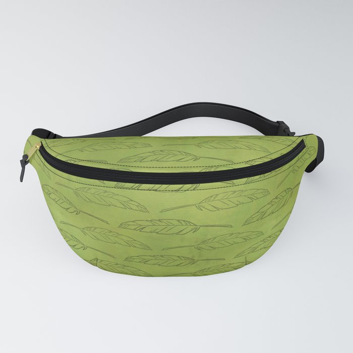Palm Traffic! (Olive Green) Fanny Pack