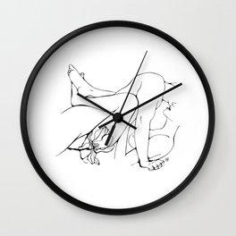 Making love Wall Clock