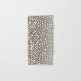 Antelope Fawn Print Hand & Bath Towel