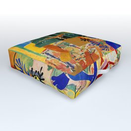 Matisse el Henri Outdoor Floor Cushion