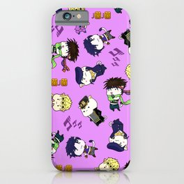 5 Jojos iPhone Case