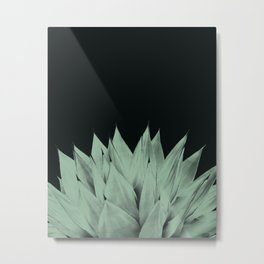 Agave Dark Night Vibes #1 #tropical #decor #art #society6 Metal Print