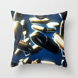 Bullets Throw Pillow