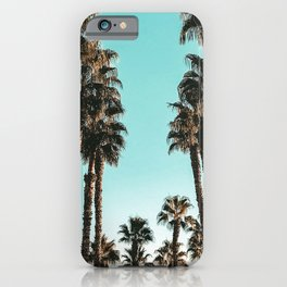 Palm Tree Days {1 of 2} Tropical Cali Art Print iPhone Case