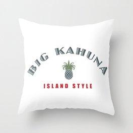 Big Kahuna Island StylePineapple Throw Pillow
