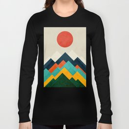 The hills are alive Langarmshirt
