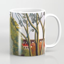 Henri Rousseau - The Banks of the Bièvre near Bicêtre Coffee Mug