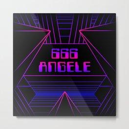 666 Angele Metal Print