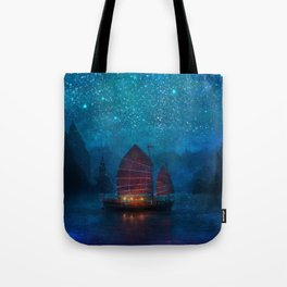 Our Secret Harbor Tote Bag
