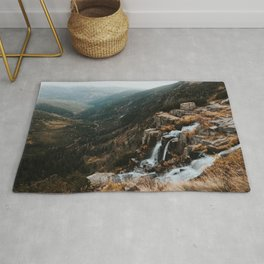Autumn falls - Landscape and Nature Photography Rug