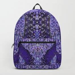 Snake Skin (purple/violet) Backpack