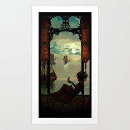 The Kingfisher Art Print