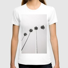 Tropical Palm Trees Black and White | Botanical | Travel Photography | T-shirt