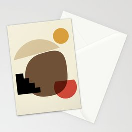 Shapes 2 - africa collection Stationery Cards
