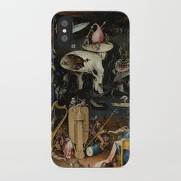 The Garden of Earthly Delights - Hell iPhone Case