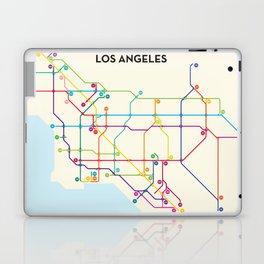 Los Angeles Freeway System Laptop & iPad Skin