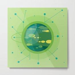 Planet G - Trappist System Metal Print
