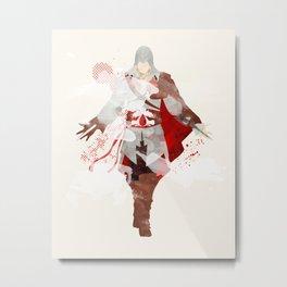 Assassins Creed: Ezio Auditore da Firenze Metal Print