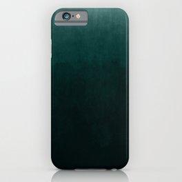 Ombre Emerald iPhone Case