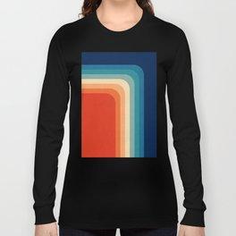 Retro 70s Color Palette III Long Sleeve T-shirt