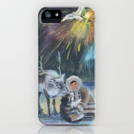 Inuit Happy New Year iPhone Case