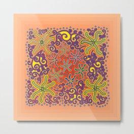 bungong jeumpa series: sandybrown Metal Print