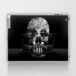 Room Skull B&W Laptop & iPad Skin