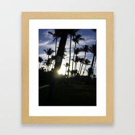 MAUI MORNINGS Framed Art Print