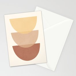 Minimal Abstract Art 33 Stationery Cards