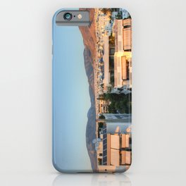Evening Light Over Athens iPhone Case