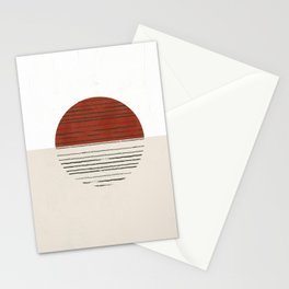 Mid century modern II Stationery Cards