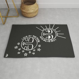 Live by the Sun, Love by the Moon Rug