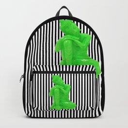 My  inner Green Buddha | Namaste Pop Art Buddha Backpack
