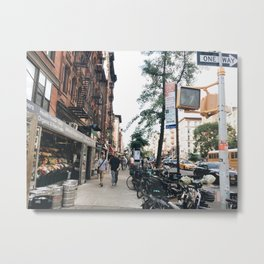 East Village Walkers Metal Print