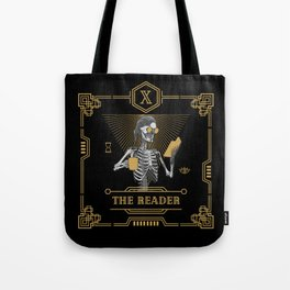 The Reader X Tarot Card Tote Bag