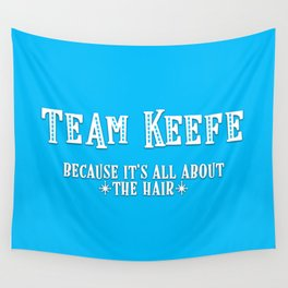 Team Keefe Wall Tapestry