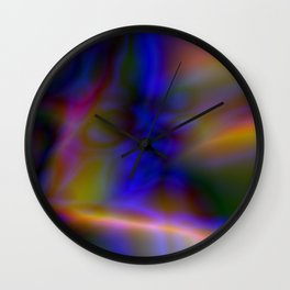 Lambent Light Wall Clock