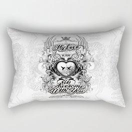 My Love Rectangular Pillow