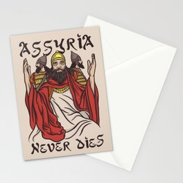 Assyria Never Dies Stationery Cards