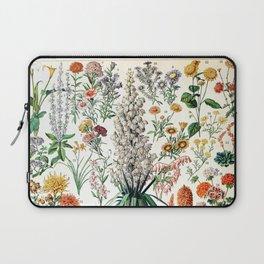 Adolphe Millot - Fleurs B - French vintage poster Laptop Sleeve