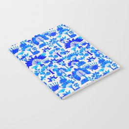Exotic Garden - Blue Notebook