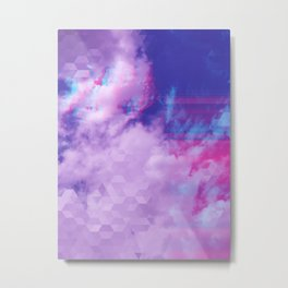 Trail in the Clouds Metal Print