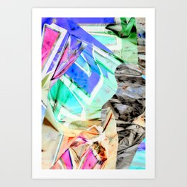 ITS A PARTY Art Print