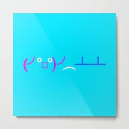 (╯°□°)╯︵ ┻━┻ Table Flip! Metal Print
